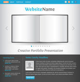 Creative web site design template — Stock Vector
