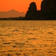 Sunset in Italy (Terracina, Lazio) — Stock Photo