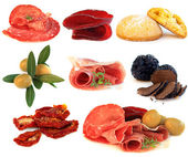Italian cuisine - gourmet food, antipasti — Stock Photo