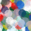 Abstract circles pattern illustration - Stock Photo