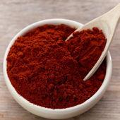Kırmızı biber tozu — Stok fotoğraf