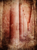 Hatshepsut temple — Stock Photo