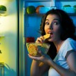 Fridge with food — Stock Photo #11170289