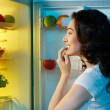 Fridge with food — Stock Photo #11533459