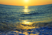 Sunset at Sea — Stock Photo