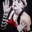 Funny mime — Stock Photo #11834138