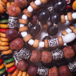 Ethnic esoteric beads — Stock Photo