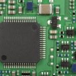 The modern printed-circuit board — Stock Photo #11756345