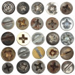 Screws head — Stock Photo #11829422
