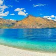 Lake wakatipu — Stockfoto