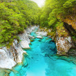 Stock Photo: Blue pools