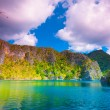Coron lagoon - Stock Photo