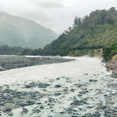 Glacial river — Стоковое фото