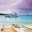 Philippine boat - Stock Photo