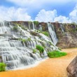 Pongour waterfall - Stock Photo