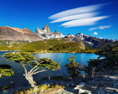 Mount Fitz Roy, Patagonia, Argentina — Stock Photo