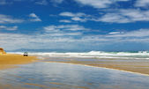 Ninety Mile Beach, New Zealand — Stock Photo