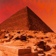 Pyramid fantasy — Stock Photo