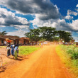 African countryside - Stock Photo