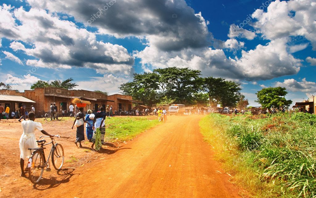 African countryside — Stock Photo #11539796