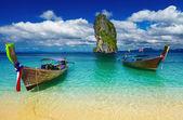 Plage tropicale, mer d'andaman, thaïlande — Photo