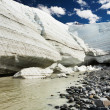 Melting glacier - Stockfoto