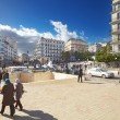 Stockfoto: Central street of Algiers city, Algeria