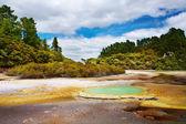 Wai-O-Tapu thermal area, New Zealand — Stock Photo