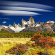 Stock Photo: Mount Fitz Roy, Argentina