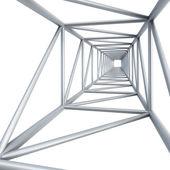 Steel girder — Stock Photo