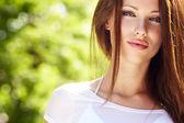 Summer girl portrait — Stock Photo