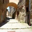 Stock Photo: Typical italian narrow street