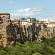 Royalty-Free Stock Photo: Panorama of Pitigliano, Tuscany