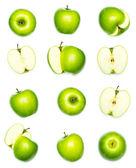 äpplen samling — Stockfoto