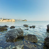 The panorama of Budva Old town. Montenegro — Foto Stock