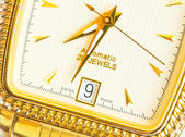 Swiss watch close up — Stock Photo