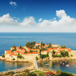 Sveti Stefan island - Stock Photo