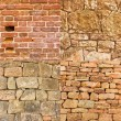 Stone wall background — Stockfoto #12189346