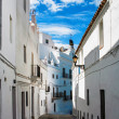Stock Photo: Street of old Spanish town.