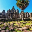 Stock Photo: Ancient buddhist khmer temple