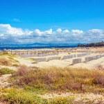 piękny widok na plażę i ocean — Zdjęcie stockowe