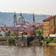 View on old  Prague - Foto Stock