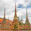 Courtyard with Stupa at Wat Pho - Stock Photo