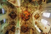 интерьер церкви старого — Стоковое фото
