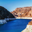 Stock Photo: Lake Mead near Hoover Dam