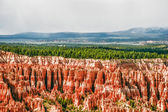 View from viewpoint of Bryce Canyon. Utah. USA — Stock Photo
