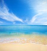 Stranden och tropiska hav — Stockfoto