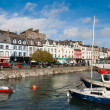 Cobh town. Ireland - Stock Photo