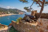 Tossa de Mar. Costa Brava, Spain — Stock Photo