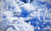 Blue Cold Ice Sheet Background Texture — Stock Photo